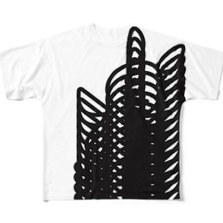 バグうさぎ Full graphic T-shirts