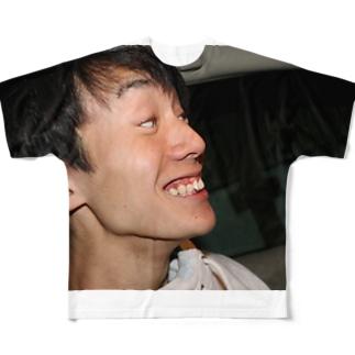 イケイケ山本くん Full graphic T-shirts