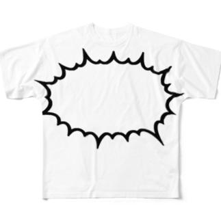 HARETSU Full graphic T-shirts