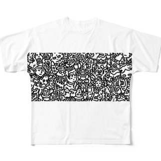 0042 Full graphic T-shirts
