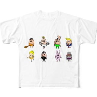 少し集合 Full graphic T-shirts