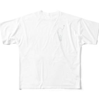 サイダーゴースト Full graphic T-shirts