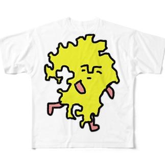 クスオくん(九州男) Full graphic T-shirts