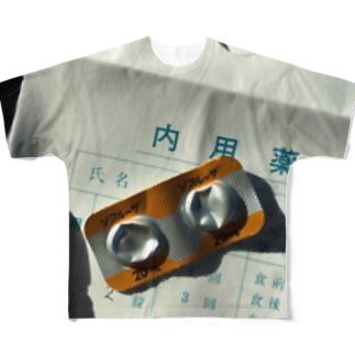 ドラッグ  ゾフルーザ   インフル Full graphic T-shirts