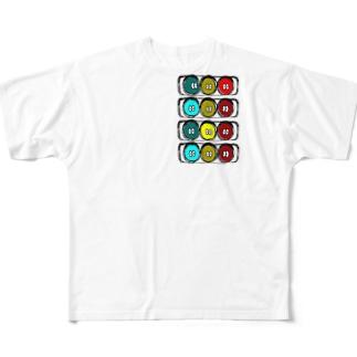 しんごうきくん フルグラフィックTシャツ