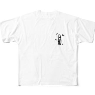 ランキング上位のリップ Full graphic T-shirts