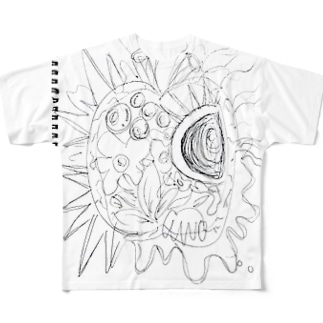 パプリカ下書き Full graphic T-shirts