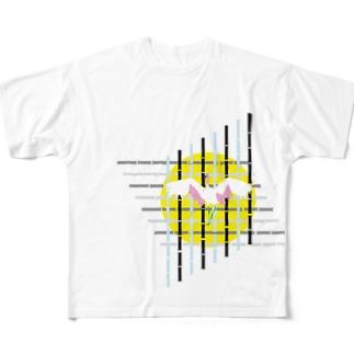竹取包囲網 Full graphic T-shirts