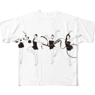 ゼンブトクイ フルグラフィックTシャツ