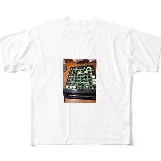 圧勝? Full graphic T-shirts