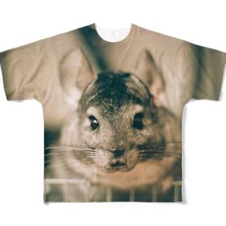 チャーチルさん Full graphic T-shirts