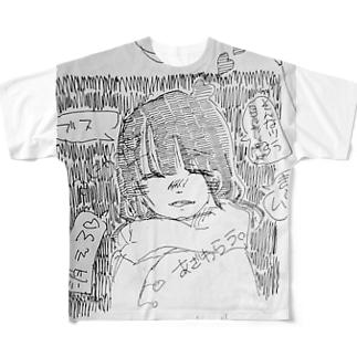 笑、 Full graphic T-shirts