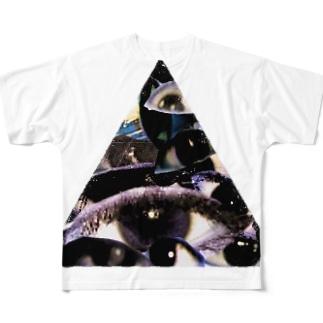 オレの目 Full graphic T-shirts