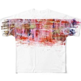 鮮やかな世界。 Full graphic T-shirts