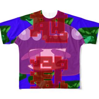 地獄 Full graphic T-shirts