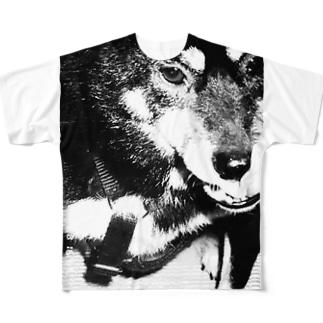 てす Full graphic T-shirts