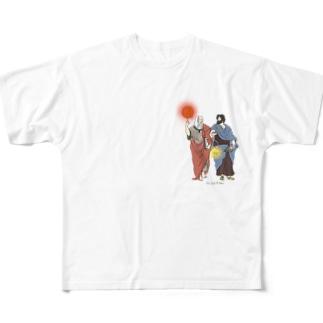 アテネの学堂 フルグラフィックTシャツ