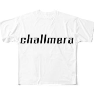 challmera フルグラフィックTシャツ