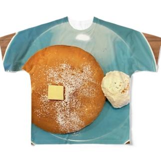 そぼくなぱんけーき Full graphic T-shirts