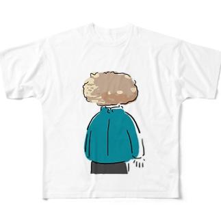 コロッケ Full graphic T-shirts