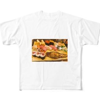 ありがとう、築地 Full graphic T-shirts