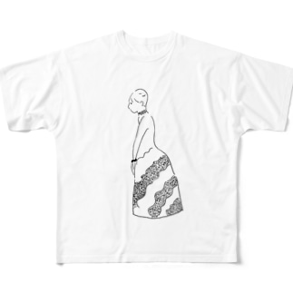 婦人 Full graphic T-shirts