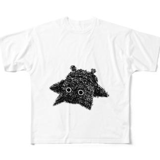 猫の手も借りたい Full graphic T-shirts