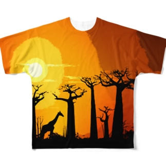BAOBAB -MAMA AFRICAN SERIES- Full graphic T-shirts