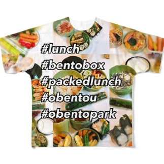 GO!GO!lunchbox! Full graphic T-shirts