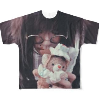 フルーチェ ふぁっくたそTシャツ Full graphic T-shirts