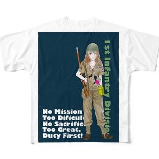 ベティ Full graphic T-shirts