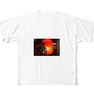 赤提灯 Full graphic T-shirts