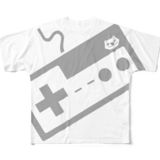 コントローラー Full graphic T-shirts