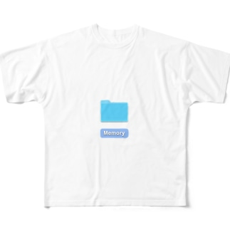 フォルダー_memory_ Full graphic T-shirts