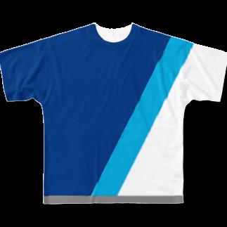 WEsunny8080の着る翼 Full graphic T-shirts