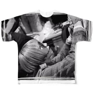 チャミさん Full graphic T-shirts