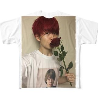 イリュージョンダークネス イリエル Tシャツ Full graphic T-shirts