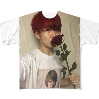 ナルシズム2 Full graphic T-shirts