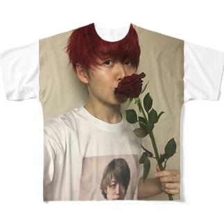 ナルシズム Full graphic T-shirts