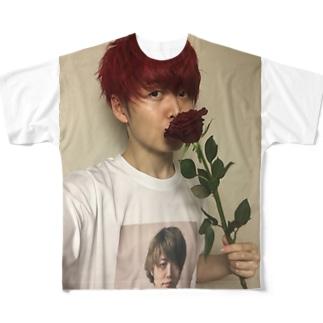 ナルシズム3 Full graphic T-shirts