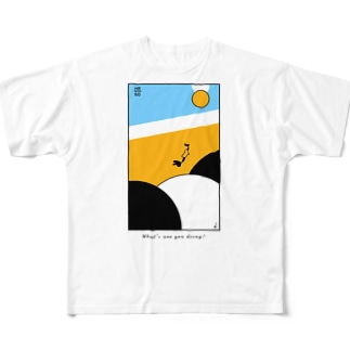 what's are  you doing? Full graphic T-shirts