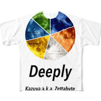 deeply Full graphic T-shirts