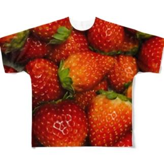 あいらぶすかいべりー両面 Full graphic T-shirts
