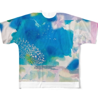 misumi Full graphic T-shirts