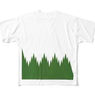 バラン Full graphic T-shirts