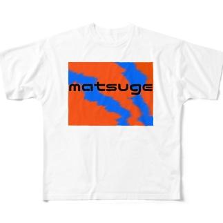 matsuge Full graphic T-shirts
