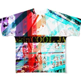 fuckin'COOL JAP Full graphic T-shirts