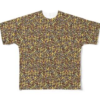 カミナリ Full graphic T-shirts