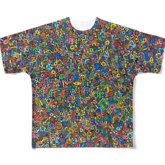 機械 Full graphic T-shirts