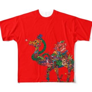 赤駱駝 Full graphic T-shirts